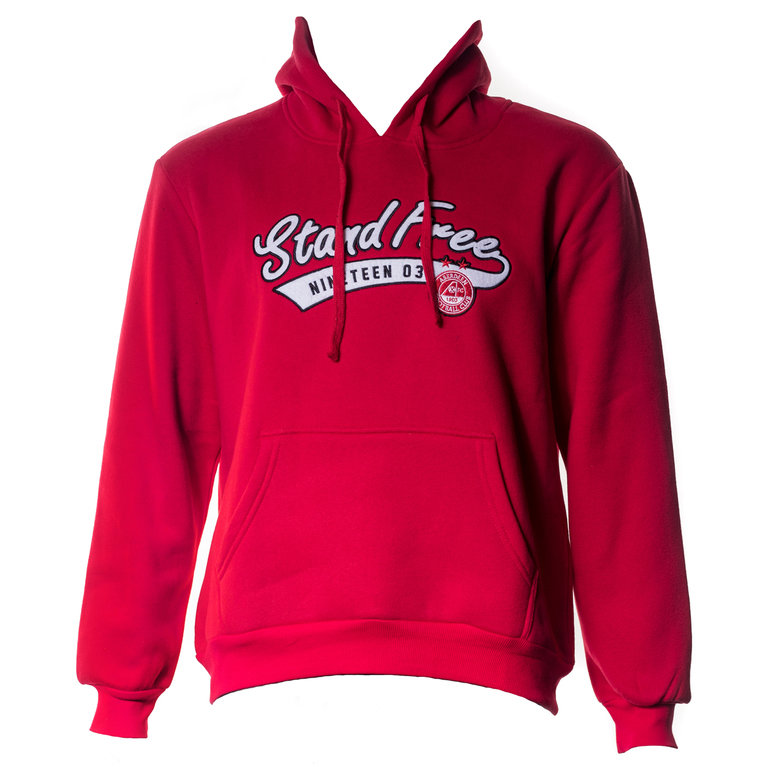 STAND FREE HOODY RED