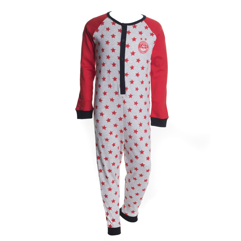 STAR SCRIBBLE ONESIE