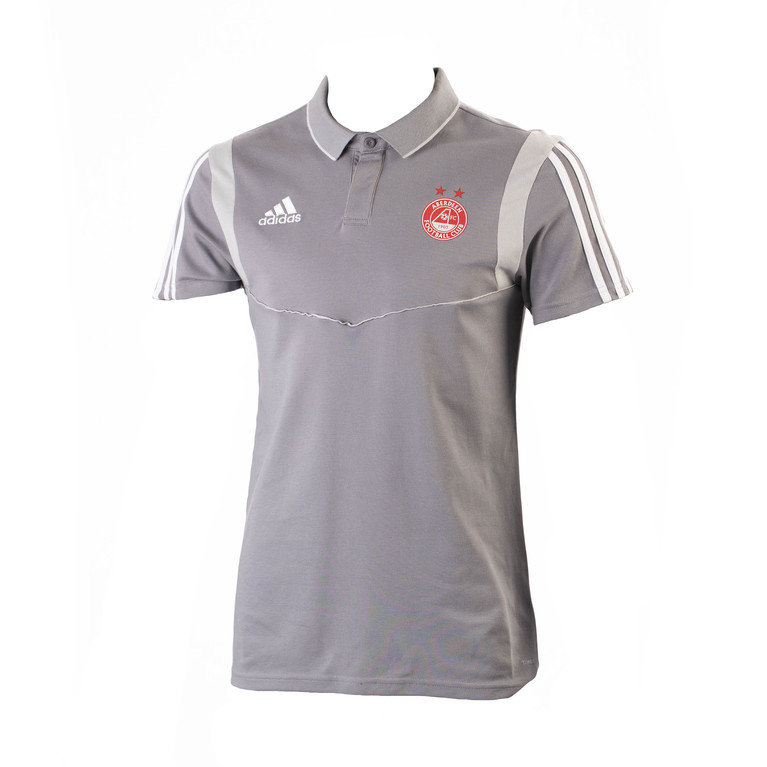 TIRO19 CO POLO GREY/WHITE