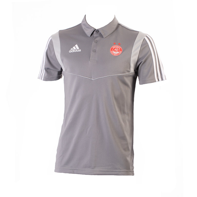 TIRO19 POLO GREY/WHITE