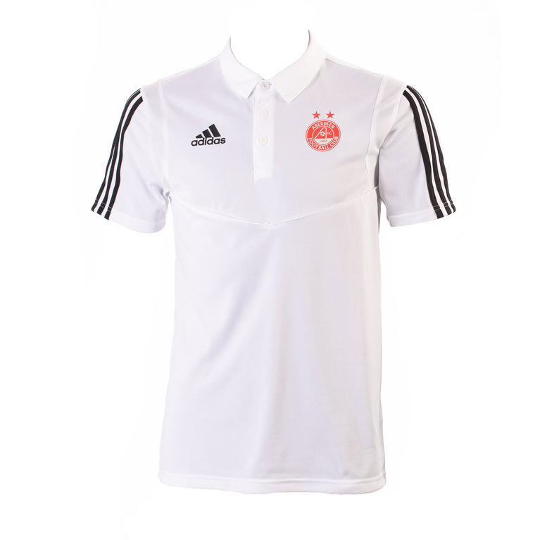TIRO19 POLO WHITE/BLACK