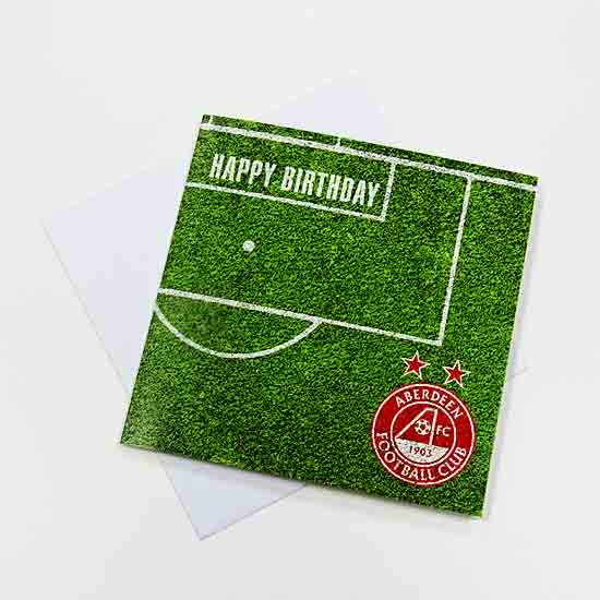 TURF HAPPY BIRTHDAY CARD