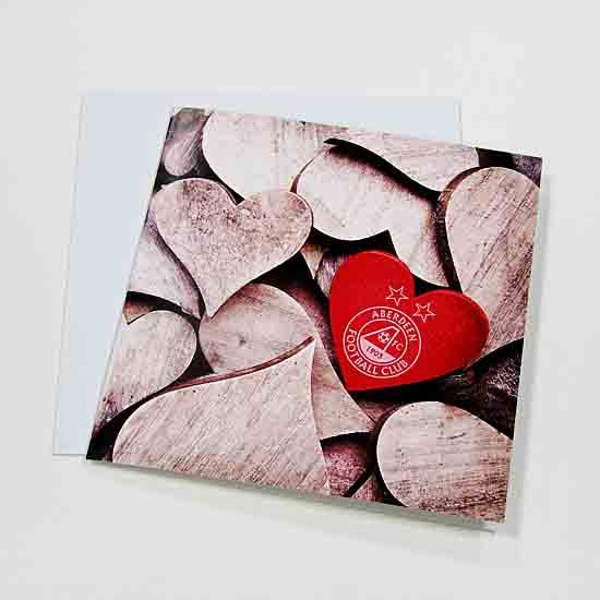 WOODEN HEARTS CARD