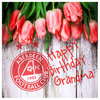 GRANDMA BIRTHDAY FLOWERS CARD Thumbnail
