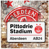 PITTODRIE SIGN GREETING CARD Thumbnail